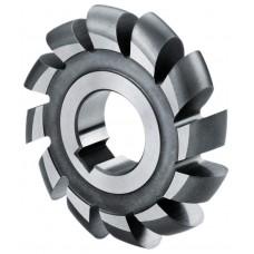 Fréza polkruhová vypuklá HSS, DIN 856, ISO 3860, ČSN 222210