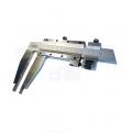 Posuvné meradlo s jemným nastavením, aratácia skrutkou, DIN 862, ČSN 251231