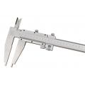 Posuvné meradlo s jemným nastavením, aratácia skrutkou, DIN 862, ČSN 251234
