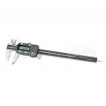 Posuvné meradlo digitálne s hĺbkomerom, aretácia skrutkou, ABS, DIN 862, ČSN 251236