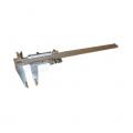 Posuvné meradlo s hĺbkomerom, aretácia skrutkou, jemné nastavenie, DIN 862, ČSN 251238