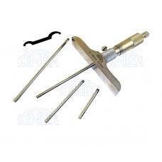 Mikrometrický hĺbkomer, DIN 863, ČSN 251442