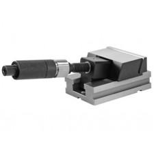 Presný strojný zverák s hydraulickým posilovačom - modul s pohyblivou čeľusťou, typ 6623