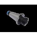 Klieštinový upínač pre klieštiny ER, pre nástroje s vavlcovou stopkou,  DIN 2080, Typ 7616