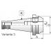 Frézovací trň pre nástroje s vavlcovou stopkou a ploškou Weldon, DIN 2080, Typ 7620