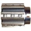 Výstružník nástrčný s priskrutkovanými nožmi, DIN 220, ČSN 221435